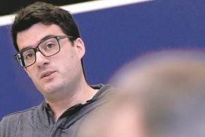 Vincent Artuso, auteur d'un rapport sur le rôle de l'État luxembourgeois dans les persécutions juives. (photo Isabella Finzi)