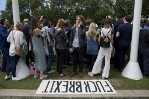 60% des plus de 65 ans ont voté pour le divorce, la jeunesse britannique est en colère. (photo Twitter)