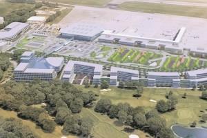 Lux-Airport veut tirer profit des terrains dont il dispose autour de l'aéroport. (illustration Lux-Airport)