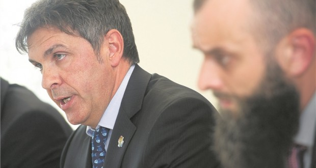 Le président du SNPGL, Pascal Ricquier, et le secrétaire général, Jérôme Banchieri, sont montés au créneau, mercredi. (photo Fabrizio Pizzolante)