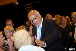 Bruno Sapin est le nouveau maire de Yutz. (photo RL)
