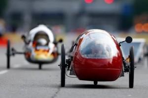 Les élèves veulent parcourir entre 600 et 700 km avec un litre d'essence. (photo DR)