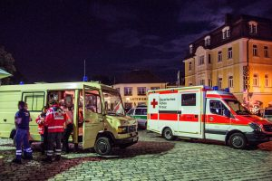Un réfugié syrien de 27 ans souffrant de troubles psychiatriques a péri dimanche soir dans l'explosion qu'il a provoquée près d'un festival de musique dans le sud de l'Allemagne. (Photo : AFP)