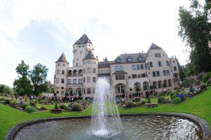 Le château de Colmar-Berg, résidence de la famille grand-ducale. (photo Isabella Finzi)