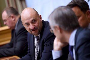 Sur l'agenda des ministres figure une visite de l'incubateur londonien Level 39 spécialisé dans les start-up financières. (photo archives LQ)