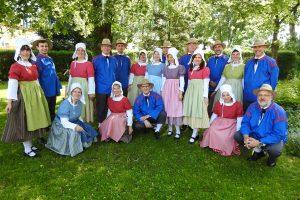 Les costumes sont inspirés des tenues folkloriques luxembourgeoises du XIXe siècle, qu'il a fallu reproduire d'après des archives. (photo DR)