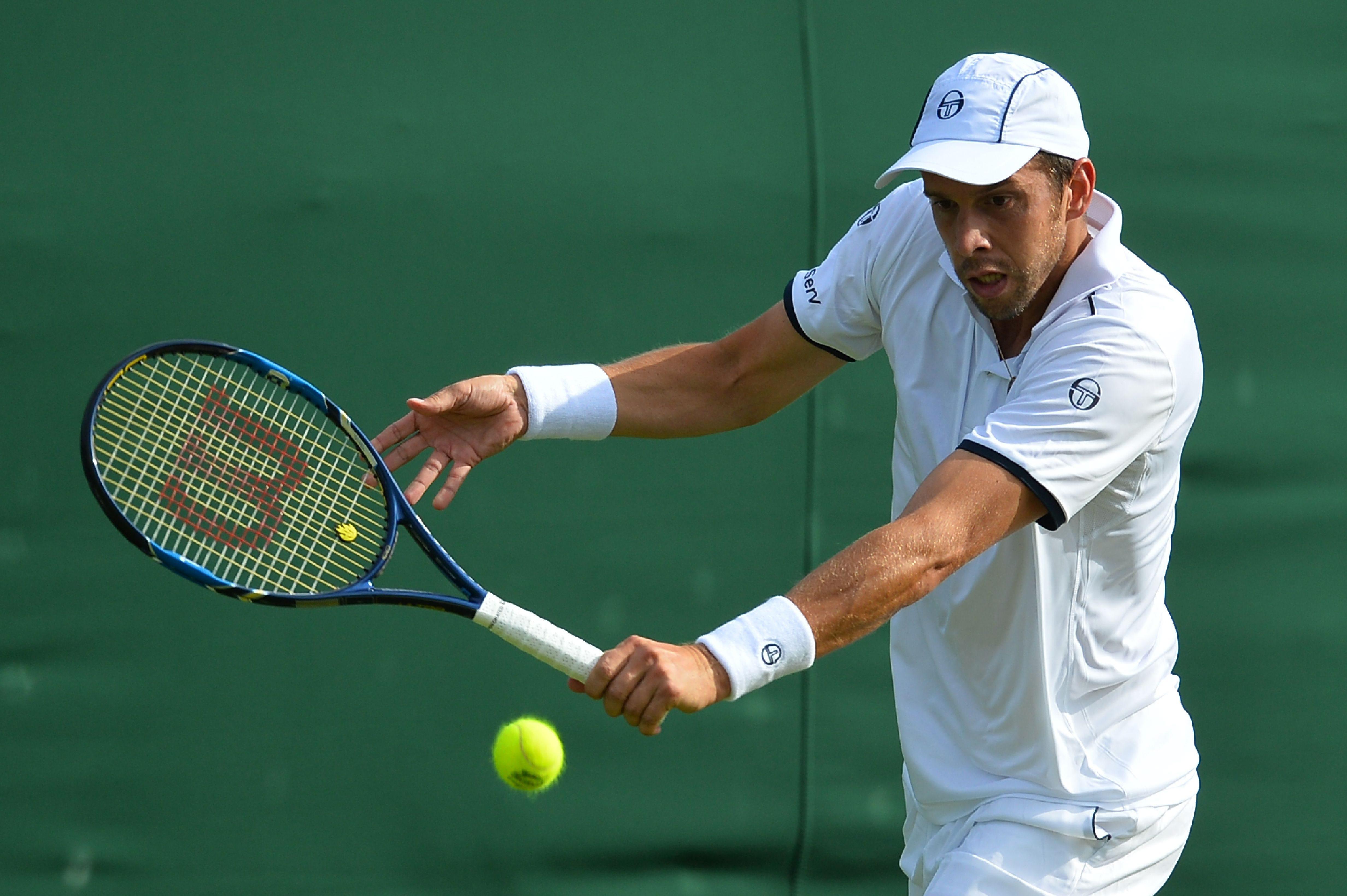 L'adversaire du Schfflangeois a été top 20 mondial en 2006. Depuis, les choses se sont toutefois gâtées pour lui... (Photo : AFP)