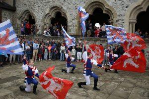 Le château revivra son faste d'antan à partir de ce samedi. (photo archives LQ / Didier Sylvestre)