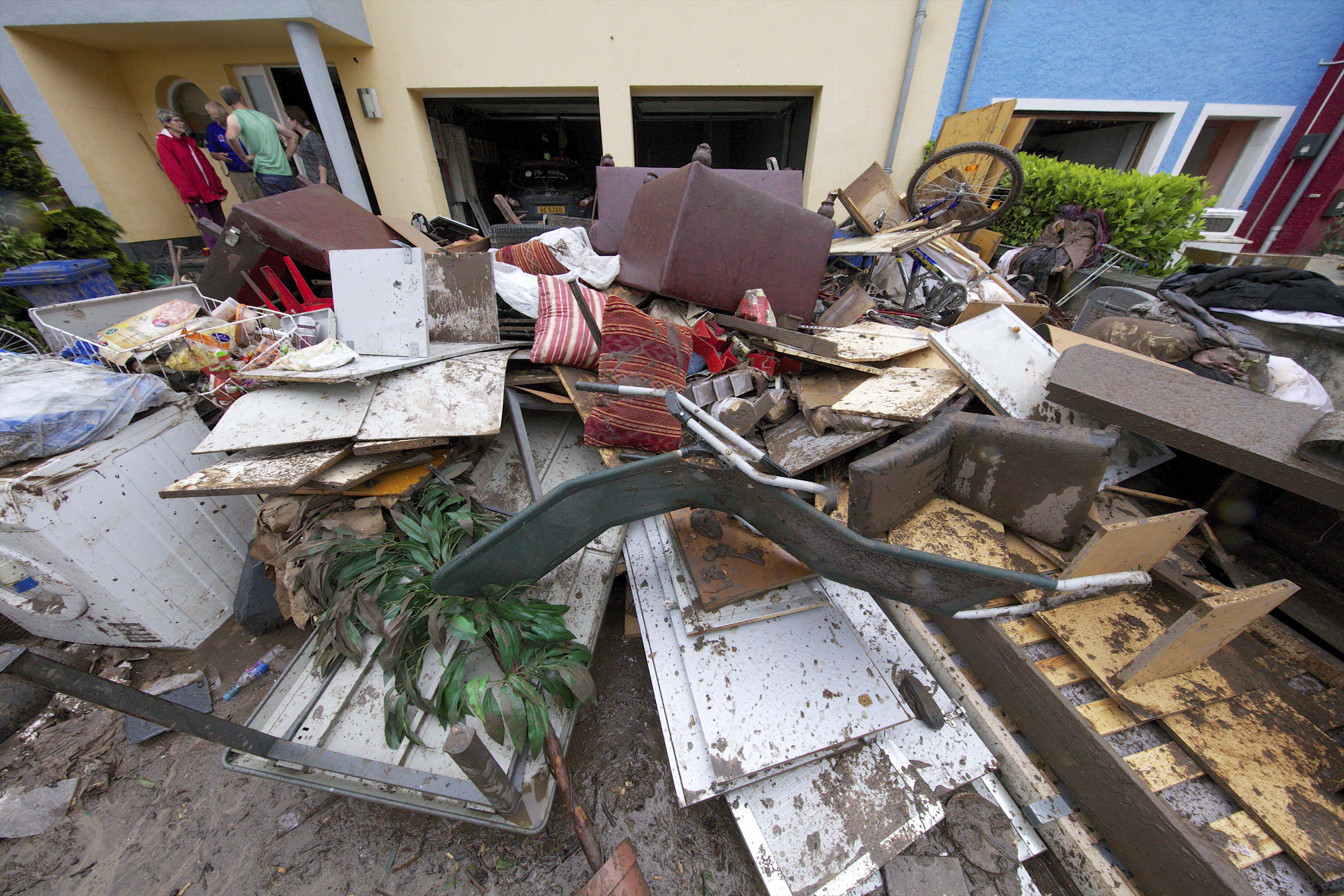 Les dégâts matériels sont nombreux, mais les assurances ne les prendront pas en charge. Et pour l'État, ce sera au cas par cas. (Photo : Editpress)