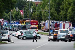 Des coups de feu ont retenti dans un centre commercial à Munich, en fin d'après-midi. Selon différentes sources il pourrait y avoir plusieurs morts. (Photo : AFP)