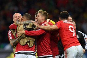 Les Gallois ont surpris les Belges ce vendredi soir. (photo AFP)