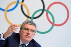 Le président du CIO, Thomas Bach. (photo AFP)