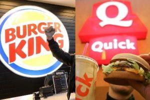 Avec ce rachat, la marque Burger King scelle la fin de l'enseigne Quick.