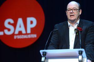 """Claude Haagen et le LSAP s'inquiètent des propositions de """"démantèlement social"""" de Luc Frieden. (photo archives LQ)"""