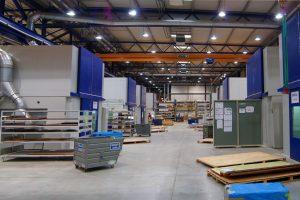 Euro-Composites a réalisé à Echternach un chiffre d'affaires de 116 millions d'euros en 2015 et emploie actuellement près de 800 salariés. (photo SIP)