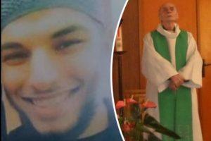 L'un des deux tueurs du prêtre Jacques Hamel (à droite), Adel Kermiche (à gauche),  était surveillé par un bracelet électronique. (photos DR)