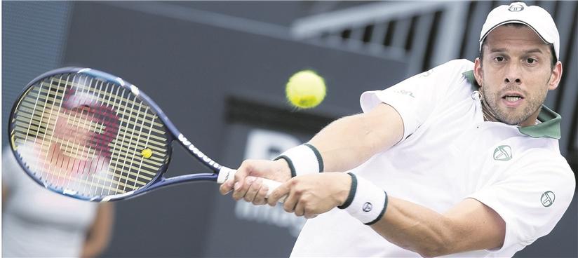 Le 37e joueur mondial a planté 663 aces (dont 21 hier) cette saison. Seul l'Américain John Isner fait mieux dans toute la «planète tennis». (photo AFP)
