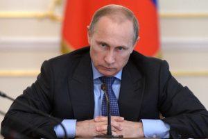"""Ces exclusions """"injustes"""" ont porté """"un coup de poignard à l'ensemble du monde du sport"""", a insisté M. Poutine, selon qui cela donnera """"une saveur totalement différente"""" aux victoires de leurs rivaux. (photo AFP)"""