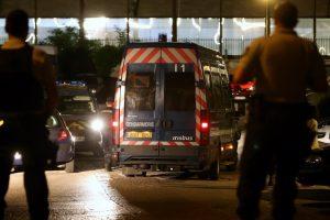 Dans la nuit de lundi à mardi, de nombreux gendarmes étaient encore postés à la brigade de Persan, dans le Val-d'Oise, prêts à intervenir en cas de nouvelles violences nocturnes. (Photo : RL)