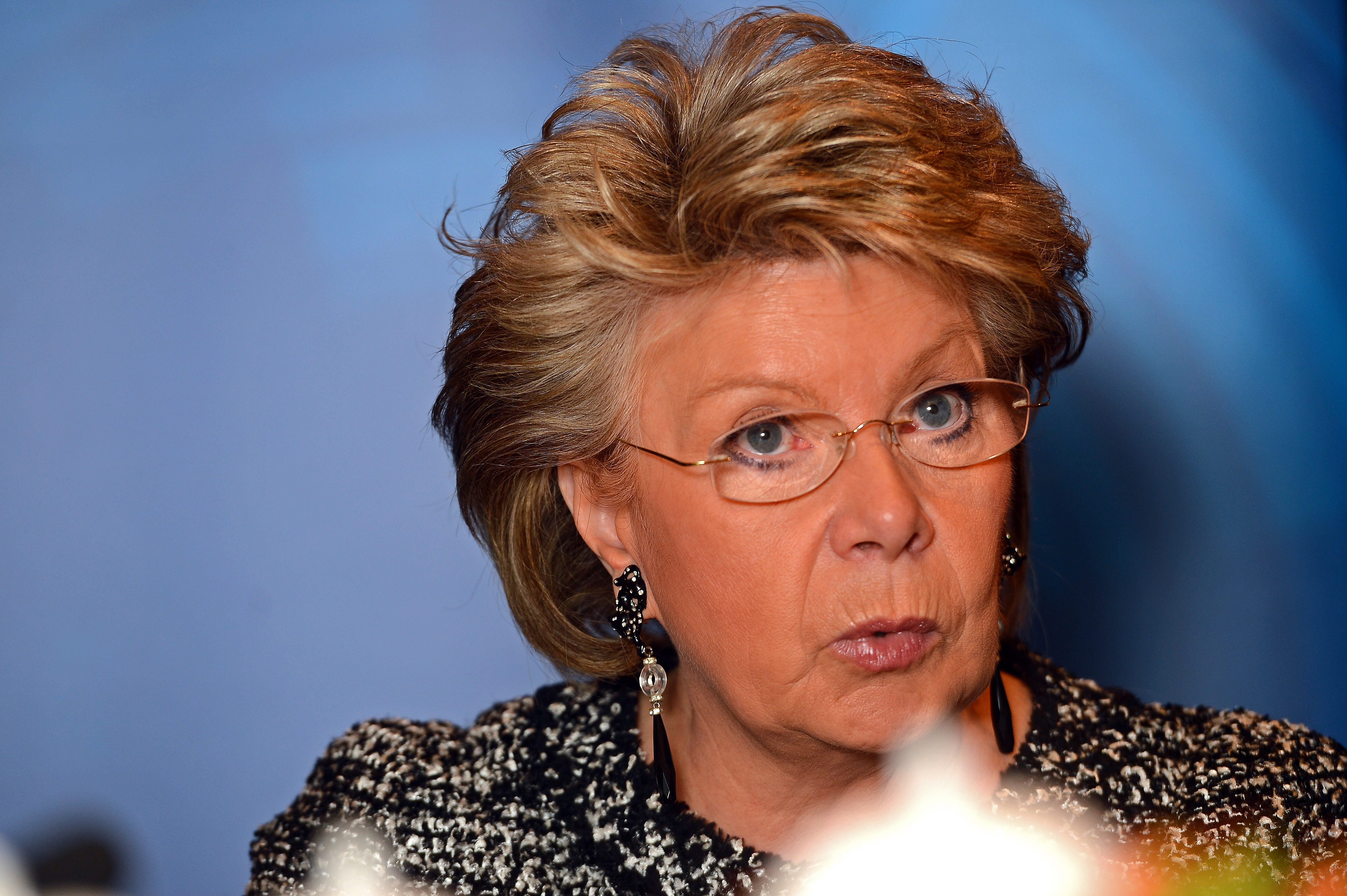 """Viviane Reding : « J'appelle le gouvernement luxembourgeois à demander l'arrêt des négociations"""" du TTIP. (photo archives LQ)"""