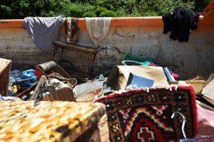 De nombreux particuliers ont énormément perdu dans les inondations, comme ici à Sanem (Photo archives Isabella Finzi)