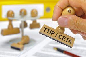 Les négociations du TTIP devaient aboutir en 2015... (illustration AFP)