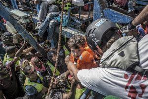 La crise des réfugiés a notamment bouleversé le monde des ONG ces dernières années. (Photo MSF)