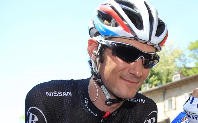 Suspendu pour dopage en juillet 2012, c'est seulement en juin 2013 que le contrat de Frank Schleck a été résilié par Leopard AG sans qu'un salaire ne lui soit versé. D'où un litige, qui s'est soldé en faveur du Mondofois. (illustration AFP)