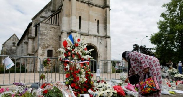 Nouvelle interpellation dans l'enquête sur le meurtre d'un prêtre en France