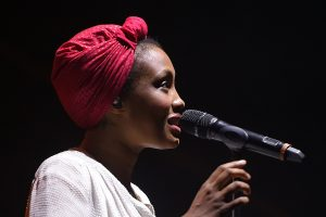 "Le nouvel album d'Imany contient le récent remix de son titre ""Don't Be So Shy"" qui lui vaut depuis quelques mois un inattendu succès international. (Photo AFP)"