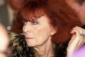 Sonia Rykiel est décédée jeudi à Paris des suites de la maladie de Parkinson. (Photo AFP)