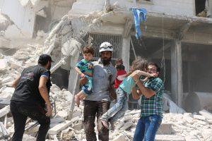 Les civils se retrouvent en première ligne, face à l'offensive menée par la Turquie. (Photo AFP)