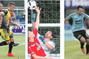Sébastien Thill (Progrès), Romain Ruffier (RFCU) et Mario Pokar (F91) sont les trois prétendants à la distinction de meilleur joueur du mois d'août.