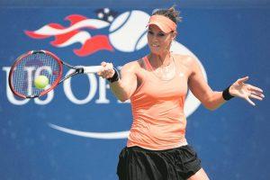 Mandy Minella s'est montrée très solide toute la semaine pour se qualifier avec autorité pour le premier tour de l'US Open. (Photo Pete Staples/USTA)