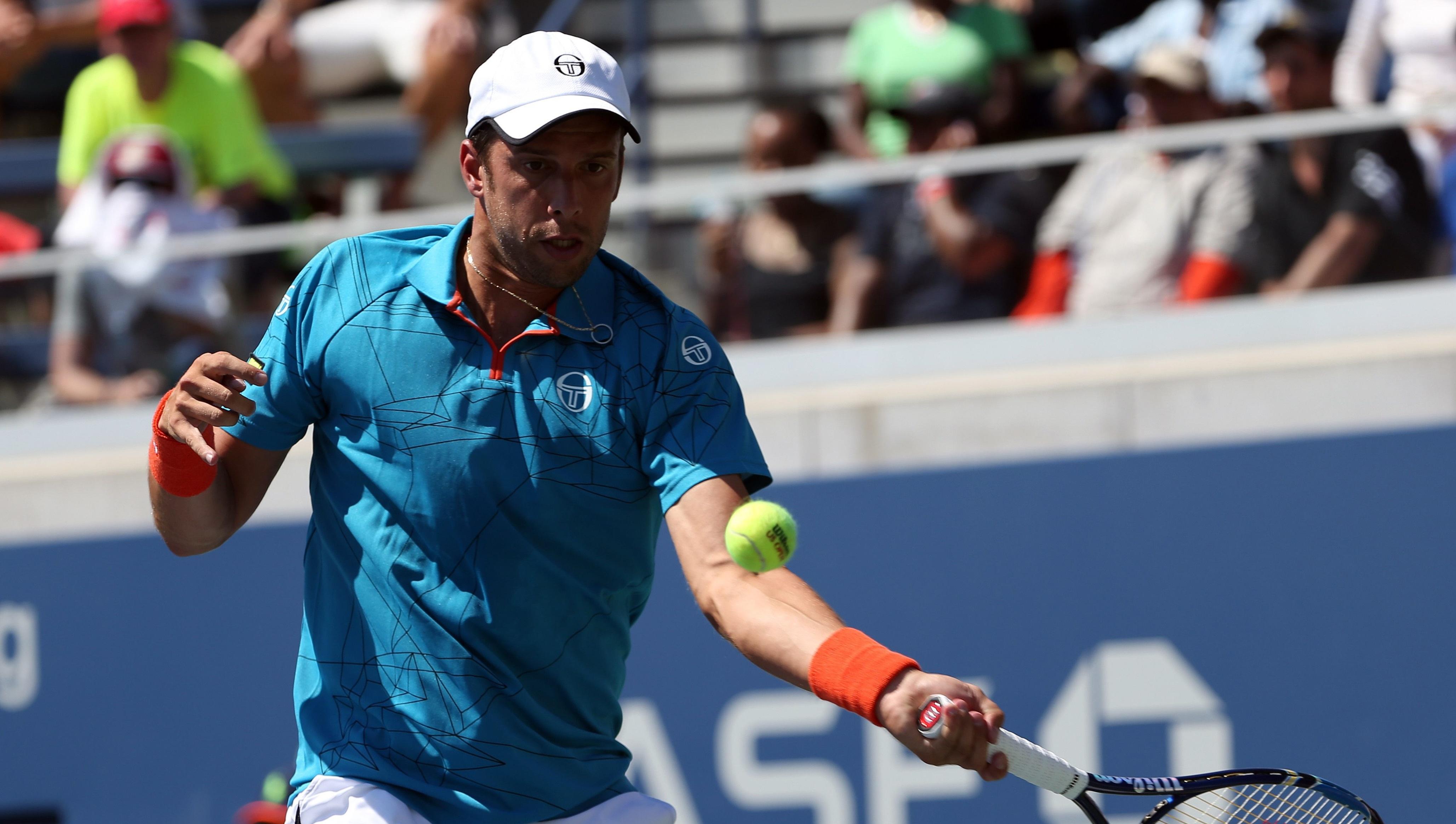 Comme lors des deux saisons précédentes, Gilles Muller quitte l'US Open dès le premier tour. (photo AP)
