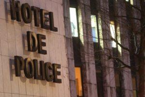 Le prévenu s'est fait la belle par une fenêtre du rez-de-chaussée de l'hôtel de police avant de courir comme un dératé et, poursuivi par une dizaine de policiers, de sauter dans la Moselle. (Photo archives RL/Gilles Wirtz)