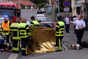 Vendredi 19 août : un motard de 26 ans est gravement blessé à Mont-Saint Martin et décède quelques jours plus tard. (Photo RL/Samuel Moreau)