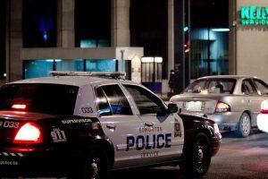 Les services de police de Toronto, plus grande ville du Canada, et d'Edmonton (photo), capitale de l'Alberta, permettent déjà le port du hijab avec l'uniforme. (Photo DR)