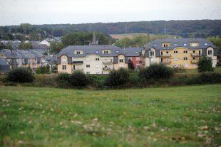 Le drame a eu lieu vers 17h15, sur la terrasse d'une  résidence située dans une commune proche de Hesperange. (Photo Hervé Montaigu)