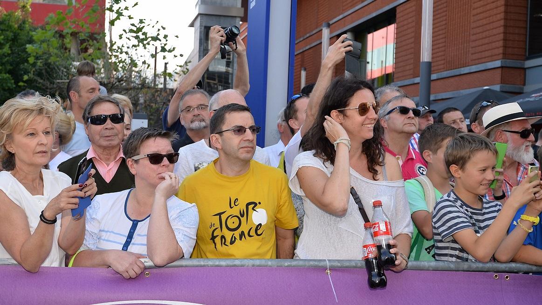 Pas de chance pour les spectateurs eschois : le Tour 2017 ne passera pas par la Métropole du fer... (Photo archives Julien Garroy)