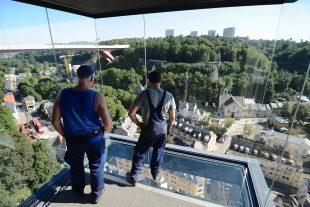 Depuis l'ouverture de l'ascenseur panoramique, tous les usagers sont unanimes : c'est pratique, en plus d'offrir une vue imprenable sur le quartier.