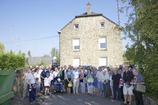 Le 14 septembre, les habitants du quartier s'étaient mobilisés pour que soit sauvée la Wichtelhaus. Le conseil communal les a suivis. (Photo Jean-Claude Ernst)