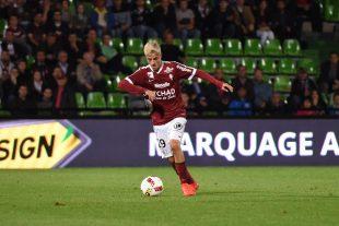 Vincent Thill a fait sa première apparition en Ligue 1, mercredi face à Bordeaux.