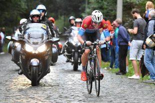 Bob Jungels a fourni un énorme effort pour aider son coéquipier Niki Terpstra à aller chercher la victoire finale sur cet Eneco Tour. (Photo : DR)