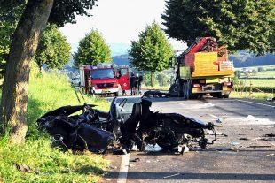 L'accident s'est produit peu après 16h. (Photo : police)