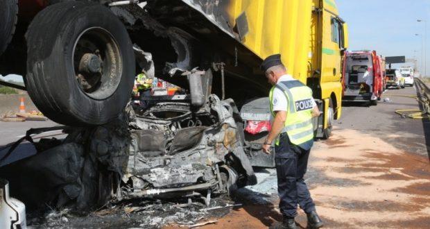 Accident mortel sur A31 à Mondelange : autoroute coupée