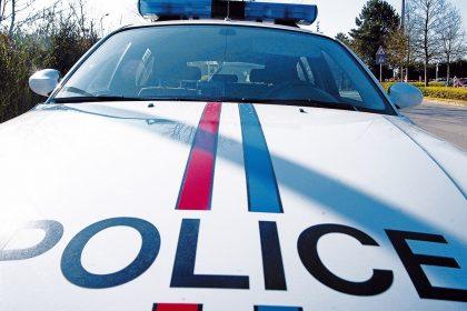 LUXEMBOURG : PRESENTATIONS STATISTIQUES POLICIERES    VOITURE DE POLICE    PHOTO : MATGE PIERRE