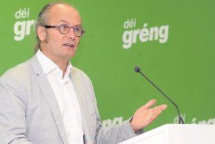 Claude Turmes rappelle qu'au Luxembourg près de 60morts sont imputées au NO2 des moteurs diesels. (photo Hervé Montaigu)