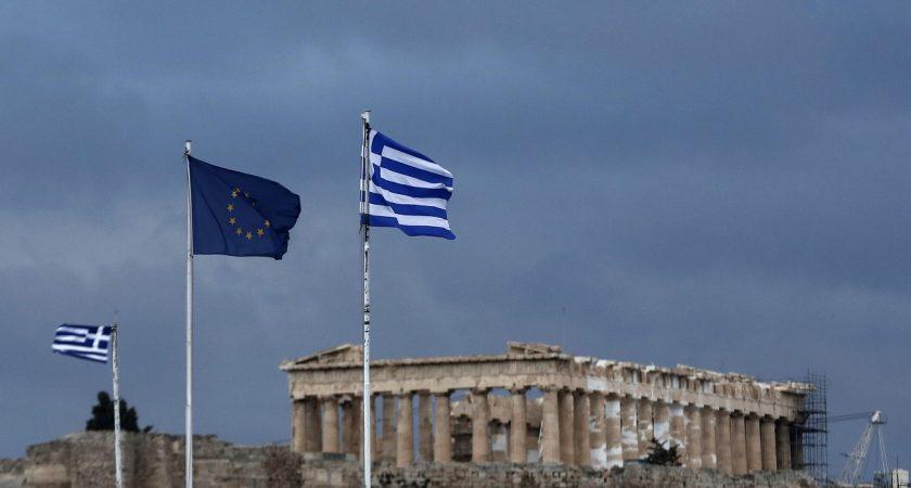 Soumise à des politiques d'austérité draconiennes, la Grèce peine à sortir de la récession malgré l'amélioration de ses finances. (illustration AP)