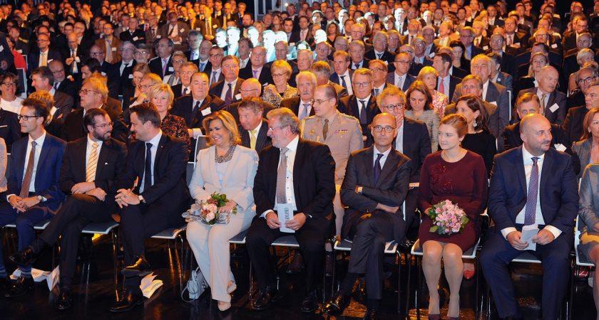 Chambre de commerce du luxembourg retour sur 175 ans d for Chambre commerce luxembourg